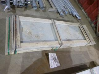 Qty Of Thomas and Betts Cable Tray Solid Covers