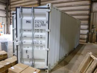 20' Seacan C/w Contents  **Buyer Responsible for Load Out**