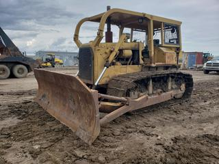 1977 Caterpillar D6D c/w A/Dozer, Canopy, Sweeps, Showing 07808 Hours, SN 04X2225 (As Per Owner)