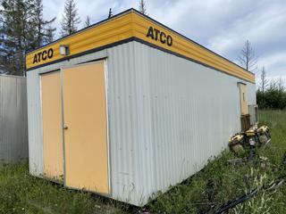 ATCO 40' Fire Control Structure. *Note: Located At Golden Eagle RV Park - 1105 Saprea Creek Rd , Buyer Responsible For Load Out*