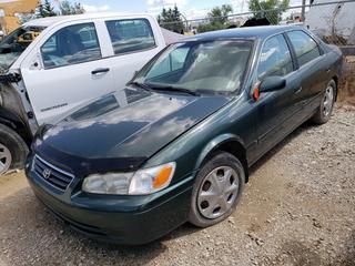 2001 Toyota Camry C/w 2.2L Gas, 4-Cyl, A/T, A/C. VIN JT2BG22K010586014 *NOTE: Running Condition Unknown*