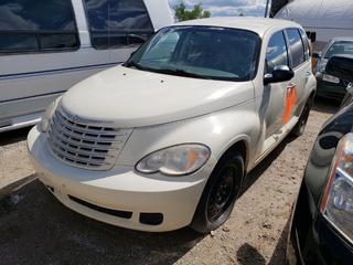 2007 Chrysler PT Cruiser C/w 2.4L, A/T, A/C, 205/60R16 Tires At 25%. VIN 3A4FY48B97T536467 *NOTE: Running Condition Unknown, No Key*
