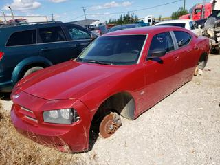 2007 Dodge Charger C/w 3.5L V6, A/C. VIN 2B3KA43G17H699751 *NOTE: Buyer Responsible For Load Out, Running Condition Unknown, No Key*