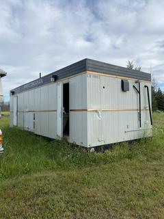 40' Wash Car. *Note: Located At Golden Eagle RV Park - 1105 Saprea Creek Rd, Buyer Responsible For Load Out*