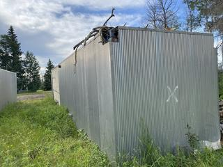 40' Sewer Structure. *Note: Located At Golden Eagle RV Park - 1105 Saprea Creek Rd, Buyer Responsible For Load Out*