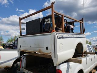 Truck Box C/w Air Liquide Welder/Generator *NOTE: Dented, Running Condition Unknown*
