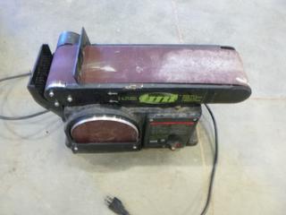 """(1) TMT 6""""Disc/4"""" x 36"""" Belt Sander * Working Condition Unknown*"""