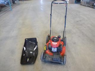(1) Honda Gas Lawn Mower, Model GCV160, Troy Belt,