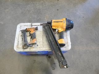 """(1) Bostitch Brad Nailer, (1) 28"""" Wire Weld Framing Nailer *Note Cooler Not Included* (G2)"""