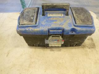 Tool Box, C/w Contents includes Screw Drivers, Pliers and More (G2)