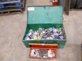 (2) Tool Boxes, C/w Plastic Anchors and Drywall Bolts, (WR-2)