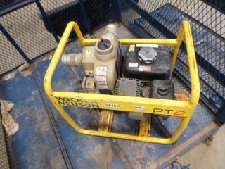 "(1) Wacker Neuson 2"" Intake / Discharge Water Pump (E5-12)"