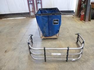 """(1) Truck Box Extender C/w (1) Hamper Cart, 40"""" x 32"""" x 32"""""""