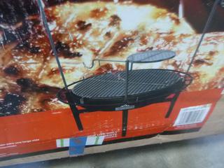 (1) Rivergrille Cowboy Fire Pit Grill (E5-12)