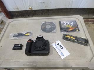 Nikon D70S Digital Camera C/w Single Lens Reflex  (G2)