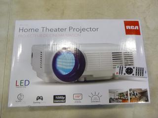 (1) RCA LED Home Theatre Projector, Model RPJ116 (G1)