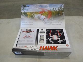 (1) Focus Litehawk Drone, Model FPV HD720 (Used) (G1)