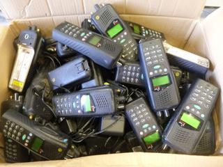 Approx 40 Tait Orca 5020 Radios, C/w Batteries, Chargers (E4-3,2)