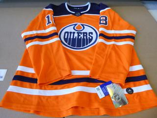 Ryan Strome Signed Pro Adidas Edmonton Oilers Jersey, Size 54, New w/ Tags (E4-3,1)