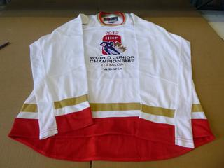 2012 World Junior Championship Nike Hockey Jersey, Size Medium, New  (E4-3,1)