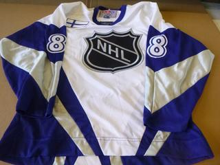 Teemu Selanne Signed NHL All Star Jersey, Size Large (New) (E4-3,1)