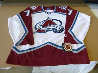 Ray Bourque Signed Colorado Avalanche Jersey, Size Large, New w/ Tags (E4-3,1)