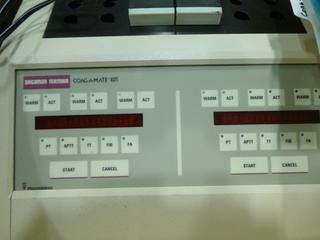 General Diagnostics Coag-A-Mate System C/w DPU Printer (G1)