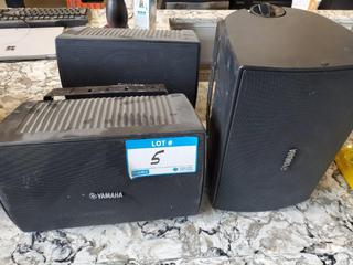Yamaha Mod. NS-AW294 Wall Speakers w/Brackets - 100W