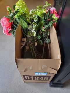 Lot Asst'd Artificial Flowers