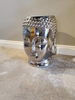 Metal Buddah Head