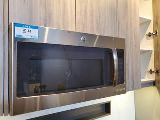 GE 1.9 Cu. Ft. Over-the-Range Microwave Stainless Steel Mod. PVM9195SVC02 , S/N SF901104S