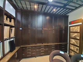 11 Panel Wall Unit open top concept, w/cabinets & Led Lighting