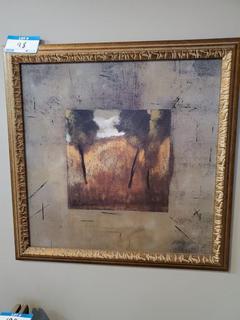 """27"""" Square Framed Print"""