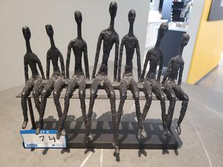 7 Person Seated Decorative Piece
