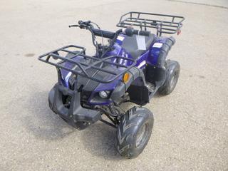 2017 Lil Pickup 125cc 2X4 Kids ATV. VIN L6FAFCD19H0000022 *Note: Needs Battery*
