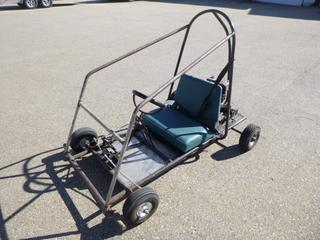 Go Kart C/w Honda GX160 5.5 Motor *Note: Running Condition Unknown*