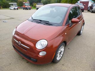 2011 Fiat 500 C/w 1.4L, A/T, Showing 116,246 VIN 3C3CFFAR2CT105453