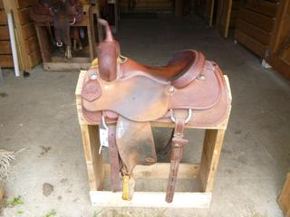 Tim Piland Cutting Saddle