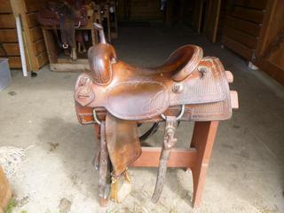 Joey Jemison Cutting Saddle