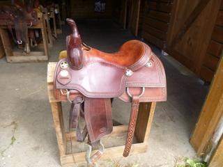 Jim Berry Cutting Saddle