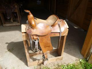 Bradley's All Around Western Saddle