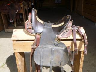 Cavalry Antique Saddle