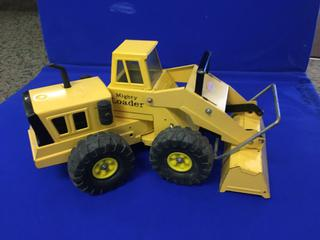 "Metal Mighty-Loader Tonka, 20"" Long."