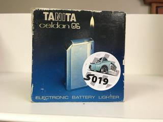 Tanita Celdan 06 Electronic Battery Lighter, Used.