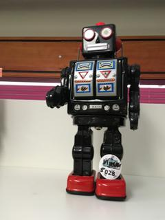 Robot Toy, Battery Operated.