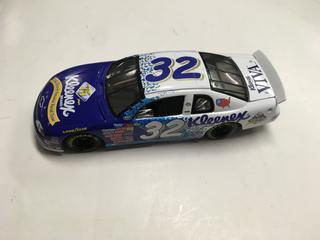 Kleenex Jeff Green 1:24 Scale Die Cast Stock Car.