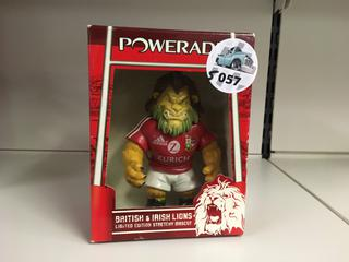 British & Irish Lions Limited Edition Stretchy Mascot.