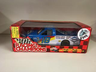 Racing Champions 1/24 Scale Die Cast Truck Replica.