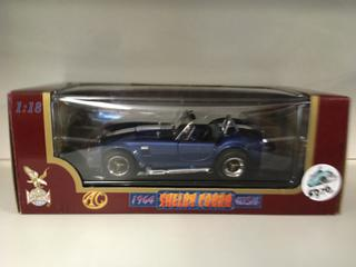 1964 Shelby Cobra 1:18 Scale Die Cast Car.