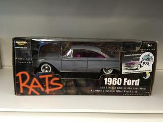 1960 Ford 1:18 Limited Edition Die Cast Metal.